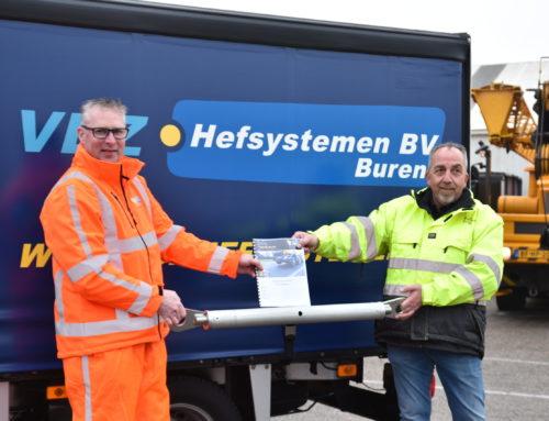 VDZ Hefsystemen B.V. starts a cooperation with V-TAS training centre