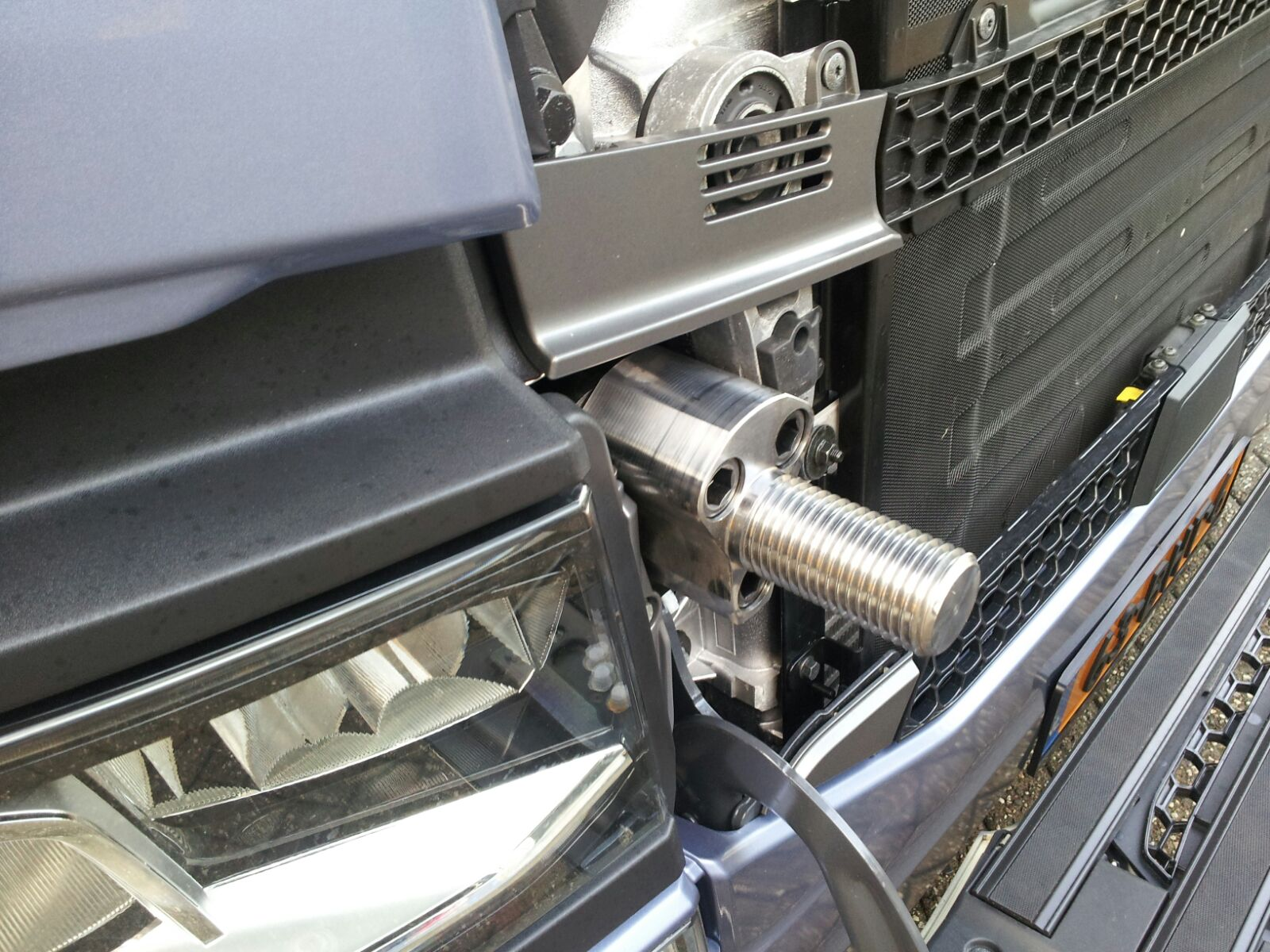 Scania S serie Towing system